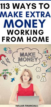 113 Ways To Make Money From Home and Online in 2019