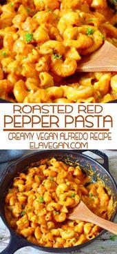 Dieses Rezept für geröstete Paprika-Nudeln könnte Ihr neues Lieblingsessen unter der Woche sein …