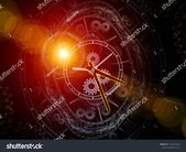 Time Watch. Faces of Time series. Backdrop of clock dials and abstract elements for use in projects on science, education and modern technologies #Ad …