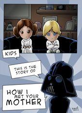 Star Wars / How I Met Your Mother by lorenzosabia –ahahaaa i am geeking out lik…