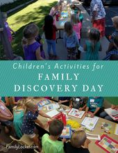 Youngsters's Actions for Household Discovery Day