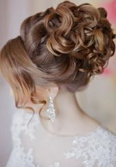 10+ Bridal Hairstyles Curly Open Half Open Medium Long – 10+ Bridal …