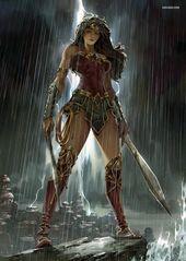 Wonder Woman #art #dc #wonderwoman #galgadot   – Art