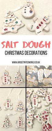 Salt Dough Christmas Decorations ⋆ A Rose Tinted World