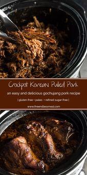 Crock Pot Korean Gochujang Pork