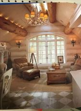 31 new ideas for house rustic interior log cabins