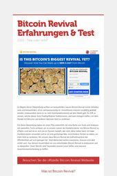 Bitcoin Revolution-Software-Uberprufung