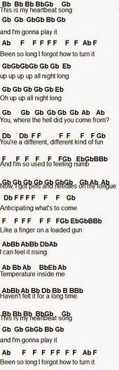 Flute Sheet Music: Heartbeat Song – Daniel