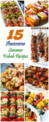 15 Awesome Summer Kebab Recipes