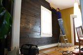 Installing Shiplap in Our Dining Room