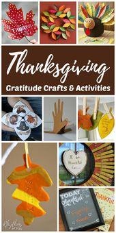 40 Thanksgiving-Dankbarkeitsaktivitäten und Basteln – PRESCHOOL CURRICULUM