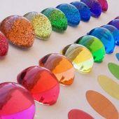 Epoxy resin colors English