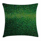 East Urban Home Geometric Indoor/Outdoor 28″ Throw Pillow Cover
