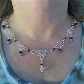 Wire Wrap Jewelry Design Ideas Handmade Sterling … – #Design #Handgemac …