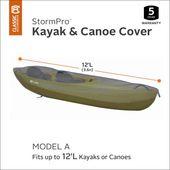 Classic Accessories Stormpro 12 Ft Waterproof Heavy Duty Kayak Canoe Cover Walmart Com Kayaking Classic Accessories Kayaking Gear