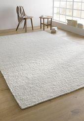 Web-Teppich Rhönschaf aus reiner Schurwolle