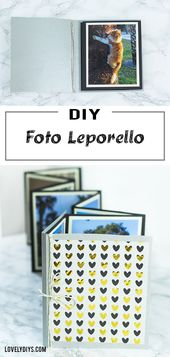 DIY Photo Leporello made of paper