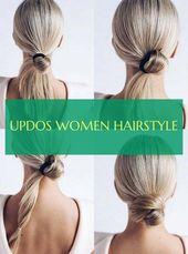 updos frauenfrisur – #Updos #women #hairstyle