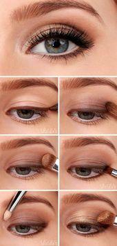 Das rechte Augen-Make-up für Ihre Augenformen – 12 goldene Spitzen