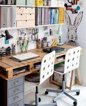 Remark fabriquer un bureau en bois DIY ?