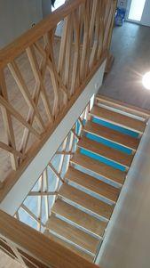 Escalier et garde-corps – #bois #Escalier #Gardeco…