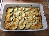 Cazuela de patata y calabacín con ajo   – Rezepte