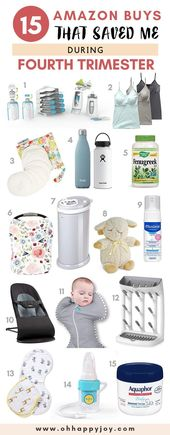 15 Postpartum Must Haves That Will Save You During Fourth Trimester