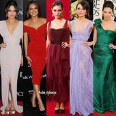 Red carpet/event | Mila Kunis  Which one is your fave? — —  All copyrights b…