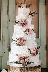 42 Spectacular Buttercream Wedding Cakes – Hochzeitstorte