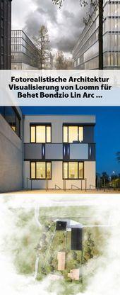 Fotorealistische Architektur Visualisierung von Loomn für Behet Bondzio Lin Arc…