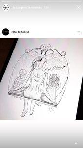 44 einzigartige Tattoo-Ideen für Frauen   – Tattoos – #einzigartige #Frauen #für #TattooIdeen #tattoos