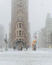 Impressive Pictures of New York During Jonas Snow …