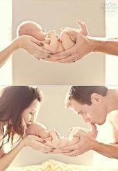 kostbar, Liebe zu den Eltern, Baby, Vorschlag für Familienfoto.   – Bilder