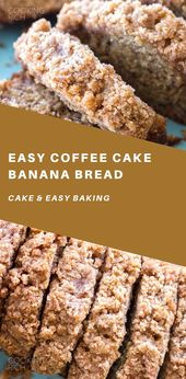 Coffee Cake Banana Bread – #BANANA #Bread #Cake #Coffee #GlutenFree  – ALLES