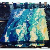 Fluid Acrylic Painting Video    – Malen