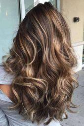 Balayage Haare dunkelbraun. Wie du den besten Friseur für Balayage Frisuren fin