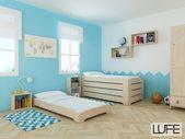 La LUFE Estrutura empilhável da cama: ao nível do solo.   – Montessori bedroom