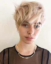 #Fein #Haar #Frisuren #Layered #Kurz #Frauen Layered Short Haircuts für Frauen