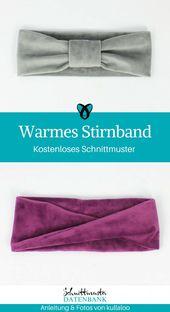 Warmes Stirnband