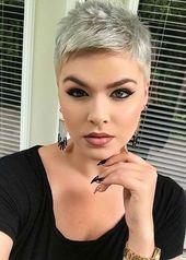 25+ Nette Pixie Haarschnitte –  – #Kurzhaarfrisuren