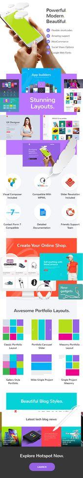 Hotspot – A Modern and Smart Theme for Digital Business #Smart, #Modern, #Hotspot, #Business