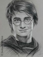 Portrat Von Daniel Radcliffe Auch Bekannt Als Harry Potter Zeichnen Als Auch Bekannt Harry Potter Portraits Harry Potter Sketch Harry Potter Drawings