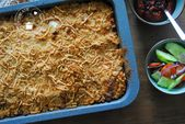 Indische macaroni (ovenschotel)