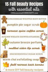 Schnelle und einfache DIY-Rezepte für den Herbst   – Body butters recipe