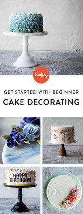 Einfache Kuchen dekorieren Muster  – Cake Decorating for Beginners