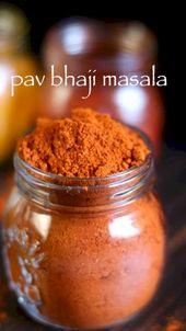 Pav bhaji masala recipe | homemade pav bhaji masal…