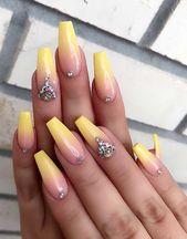 23 Süße und einfache Ideen für Ombre Nails  – Nails