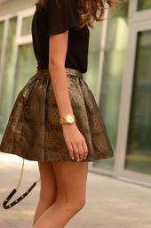 La jupe corolle pour une silhouette avec un halo – jupe – #with #corolle #halo …   – Jupes
