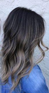 35 Rauchige und raffinierte aschbraune Haarfarbe – Teil 15   – hair.