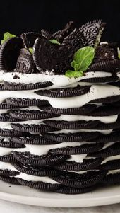 Oreo Cookies & Cream Cake Recipe – Food